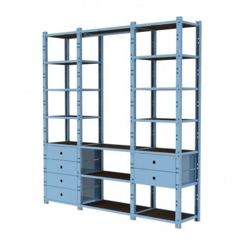Closet 3 Módulos Configuración 2