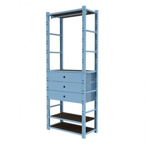 Closet 1 Módulo 80 cm Configuración 1
