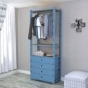 Closet 1 Módulo 80 cm Configuración 3