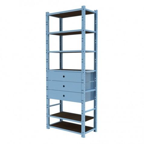 Closet 1 Módulo 80 cm Configuración 2