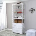 Closet 1 Módulo 80 cm Configuración 4